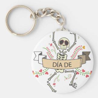 Chaveiro Diâmetro DE Festival do morto