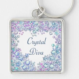 Chaveiro Diva de cristal