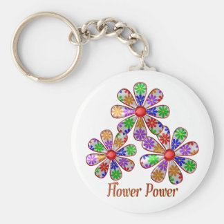 Chaveiro Divertimento flower power