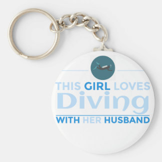 Chaveiro diving_husband