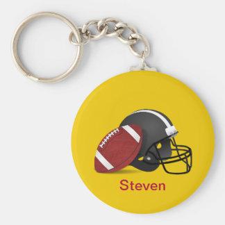Chaveiro do amarelo do capacete de Steven_Football