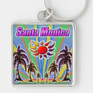 Chaveiro do amor do verão de Santa Monica