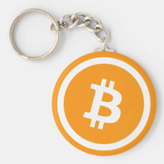 Chaveiro do botão de Bitcoin BTC