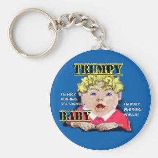 Chaveiro do botão do bebê de Trumpy