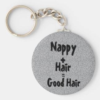 Chaveiro do cabelo da fralda bom