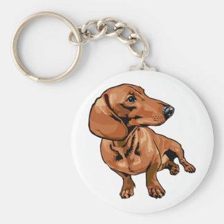 Chaveiro do cão de Brown