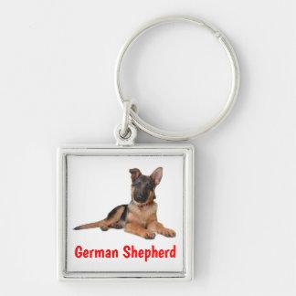 Chaveiro do cão de filhote de cachorro do german