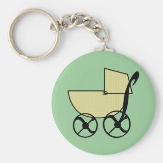 Chaveiro do carrinho de bebê