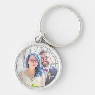 Chaveiro do casamento de Katrina & de Greg