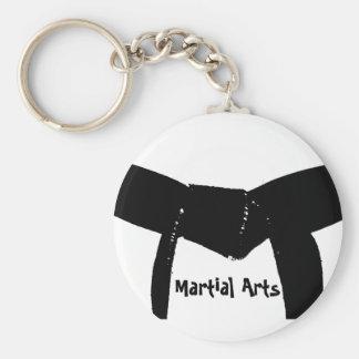 Chaveiro do cinturão negro das artes marciais