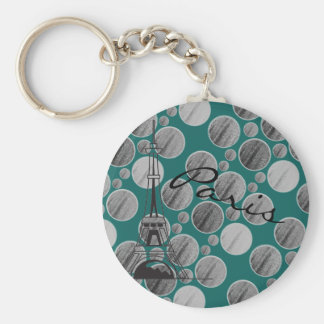 Chaveiro do círculo do ponto de Paris