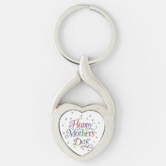 Chaveiro do coração do dia das mães
