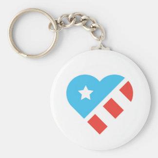 Chaveiro do coração do patriota