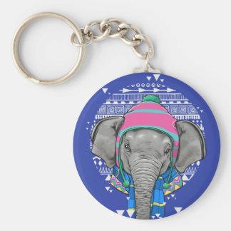 Chaveiro do elefante do bebê