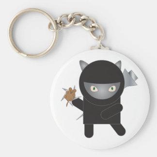 Chaveiro do gato do gatinho de Ninja