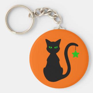 Chaveiro do gato preto
