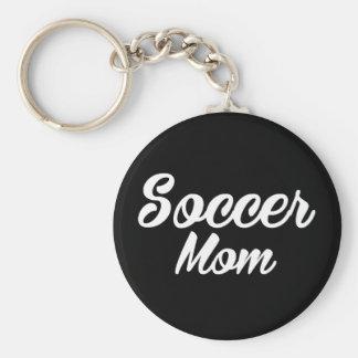 Chaveiro do impressão da mamã do futebol
