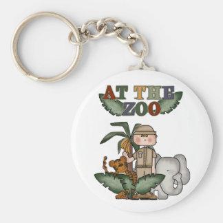 Chaveiro do jardim zoológico do menino