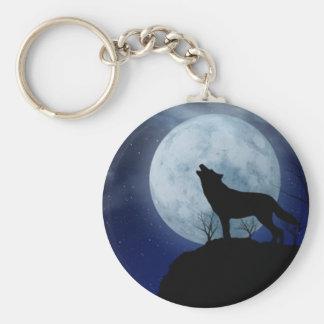 Chaveiro do lobo da Lua cheia