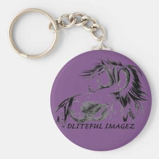 Chaveiro do logotipo de Dliteful Imagez