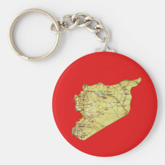 Chaveiro do mapa de Syria