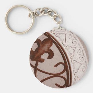 chaveiro do medalhão do Sepia-tom