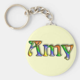 Chaveiro do nome do sulco do Hippie do KRW - Amy