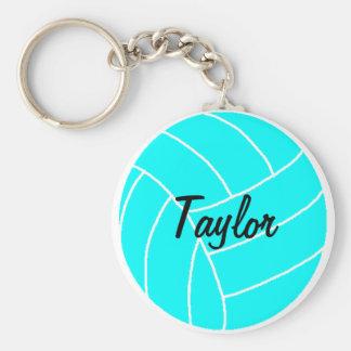 Chaveiro do nome do voleibol do Aqua