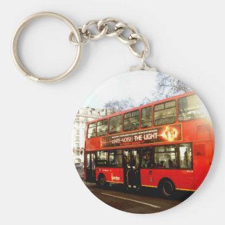 chaveiro do ônibus do autocarro de dois andares