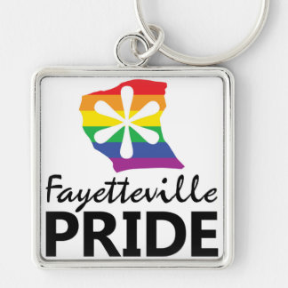 Chaveiro do orgulho de Fayetteville