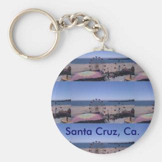Chaveiro do passeio à beira mar de Santa Cruz