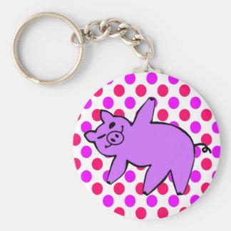 Chaveiro do porco - presentes engraçados da ioga