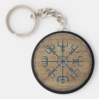 Chaveiro do protetor de Viking - Vegvisir