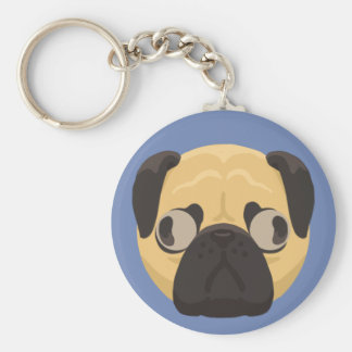 Chaveiro do Pug
