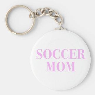 Chaveiro do slogan da mamã do futebol