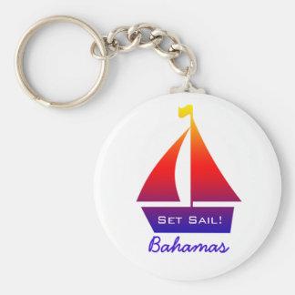 Chaveiro do veleiro de Bahamas