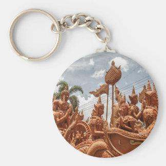 Chaveiro do viagem do festival da vela de Ubon