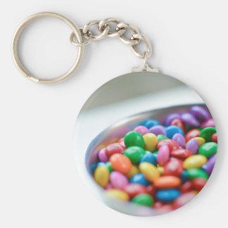 Chaveiro doces coloridos