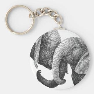Chaveiro dos elefantes africanos