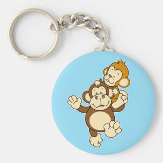 Chaveiro dos irmãos do macaco