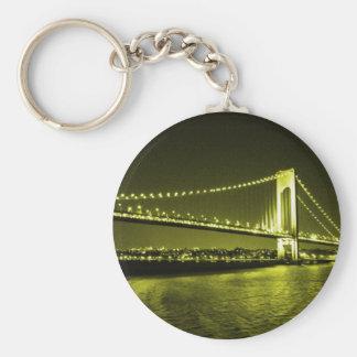 Chaveiro dourado da ponte