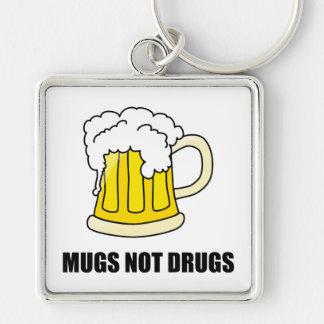Chaveiro Drogas das canecas não