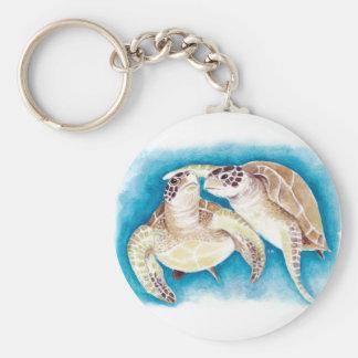 Chaveiro Duas tartarugas de mar