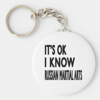 Chaveiro É aprovado mim sabe artes marciais do russo