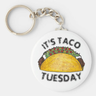 Chaveiro É Tacos duro de Shell da comida mexicana de