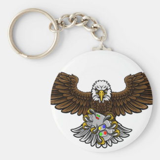 Chaveiro Eagle Esports ostenta a mascote do Gamer