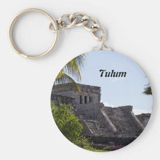 Chaveiro EL Castillo de Tulum - ruínas maias
