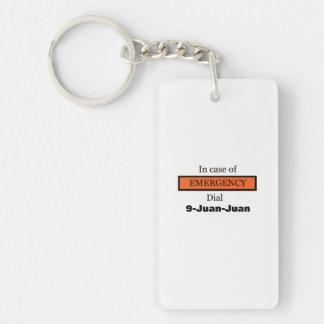 In Case of EMERGENCY Dial 9-Juan-Juan