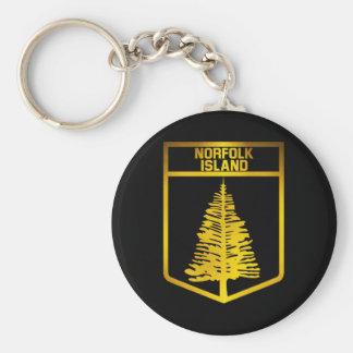 Chaveiro Emblema da ilha Norfolk