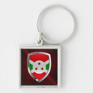 Chaveiro Emblema de Burundi Mettalic